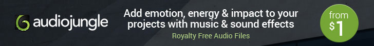 Add emotion, impact, and energy to your projects with royalty free music and sound effects starting from $1
